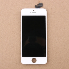 LCD Display + Screen Touch Digitizer + Frame Assembly For iPhone iPhone 5 5G White