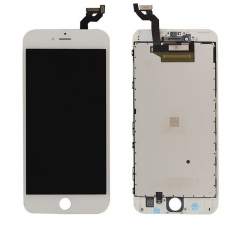 LCD Display + Screen Touch Digitizer + Frame Assembly For iPhone 6S Plus White