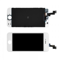 LCD Display + Screen Touch Digitizer + Frame Assembly For iPhone iPhone 5S White