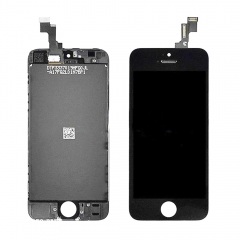 LCD Display + Screen Touch Digitizer + Frame Assembly For iPhone iPhone 5S Black