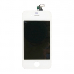 LCD Display + Screen Touch Digitizer + Frame Assembly For iPhone 4GS 4S White