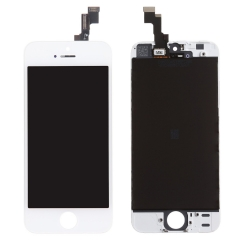 LCD Display + Screen Touch Digitizer + Frame Assembly For iPhone SE White