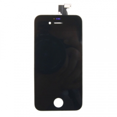 LCD Display + Screen Touch Digitizer + Frame Assembly For iPhone 4GS 4S Black