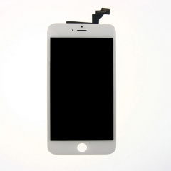 LCD Display + Screen Touch Digitizer + Frame Assembly For iPhone 6 Plus White