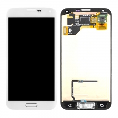 LCD Display Touch Screen Digitizer Assembly For Samsung Galaxy Samsung Galaxy S5 i9600 G900R G900F G900H G900M G9001 White