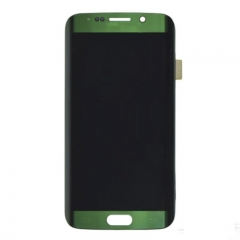 For Samsung Galaxy S6 EDGE G925 G925A G925T G925V LCD Display Touch Screen Digitizer Assembly Green