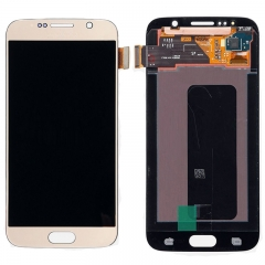 LCD Display Touch Screen Digitizer Assembly For Samsung Galaxy Samsung Galaxy S6 G920 G920F G920A Gold