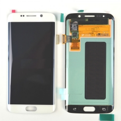 For Samsung Galaxy S6 EDGE G925 G925A G925T G925V LCD Display Touch Screen Digitizer Assembly White