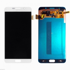 For Samsung Galaxy Note 5 N920 N9200 N920F N920A N920T N920C N920V LCD Display Touch Screen Digitizer Assembly White