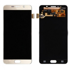 For Samsung Galaxy Note 5 N920 N9200 N920F N920A N920T N920C N920V LCD Display Touch Screen Digitizer Assembly Gold