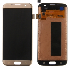 For Samsung Galaxy S7 Edge G935 G935F G935T G935V G935A G935P LCD Display Touch Screen Digitizer Assembly Gold