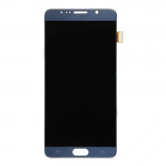 For Samsung Galaxy Note 5 N920 N9200 N920F N920A N920T N920C N920V LCD Display Touch Screen Digitizer Assembly Blue