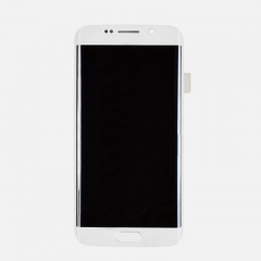 For Samsung Galaxy S6 Edge G925F LCD Display Touch Screen Digitizer Panel Glass Frame Assembly White