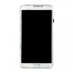 For Samsung Galaxy Note 3 N9005 LCD Display Touch Screen Digitizer Panel Glass Frame Assembly White