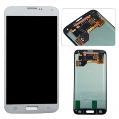 For Samsung Galaxy S5 Neo G903 G903A G903T G903F LCD Display Touch Screen Digitizer Assembly Silver