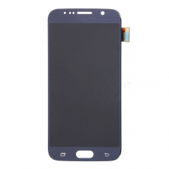 For Samsung Galaxy S6 G920F LCD Display Touch Screen Digitizer Panel Glass Frame Assembly Black