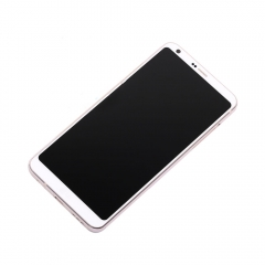 For LG G6 H870 H871 H872 LS993 VS998 US997 LCD Display Touch Screen Digitizer Panel Glass Frame Assembly White