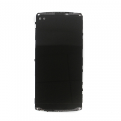 For LG V10 H900 H901 H960 H962 VS990 LCD Display Touch Screen Digitizer Panel Glass Frame Assembly Black