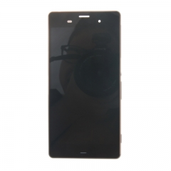 For Sony Xperia Z3 D6603 D6643 D6653 D6616 LCD Display Touch Screen Digitizer Panel Glass Frame Assembly Gold