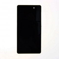 For Sony Xperia Z2 L50W D6502 D6503 D6543 LCD Display Touch Screen Digitizer Panel Glass Frame Assembly Black