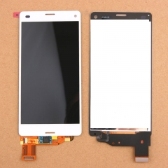 For Sony Xperia Z3 Compact Mini D5803 D5833 LCD Display Touch Screen Digitizer Assembly White