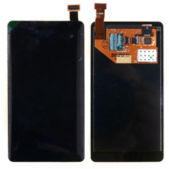 For Nokia Lumia 800 LCD Display Touch Screen Digitizer Assembly Black
