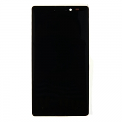 For Nokia Lumia 930 LCD Display Touch Screen Digitizer Panel Glass Frame Assembly Black