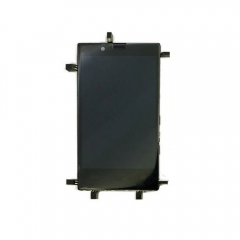 For Nokia Lumia 720 LCD Display Touch Screen Digitizer Panel Glass Frame Assembly Black