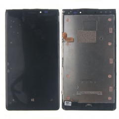For Nokia Lumia 920 LCD Display Touch Screen Digitizer Panel Glass Frame Assembly Black