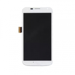 For Motorola Moto X XT1060 XT1058 LCD Display Touch Screen Digitizer Panel Glass Frame Assembly White