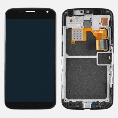 For Motorola Moto X XT1060 XT1058 LCD Display Touch Screen Digitizer Panel Glass Frame Assembly Black