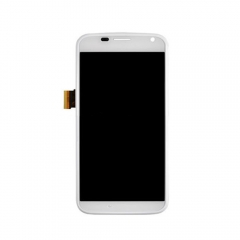 For Motorola X XT1060 XT1058 LCD Display Touch Screen Digitizer Assembly White