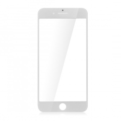 "For iPhone 7 4.7"" Front Outer Glass Lens Screen Cover White"