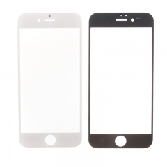 For iPhone 6S 4.7'' Front Outer Glass Lens Screen Cover White