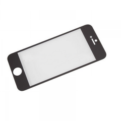 For iPhone 5 5G 5C 5S Front Outer Glass Lens Screen Cover Black