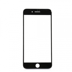"For iPhone 7 Plus 5.5"" Front Outer Glass Lens Screen Cover Black"