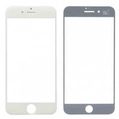 "For iPhone 7 Plus 5.5"" Front Outer Glass Lens Screen Cover White"