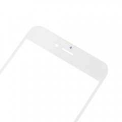 For iPhone 6S Plus 5.5'' Front Outer Glass Lens Screen Cover White