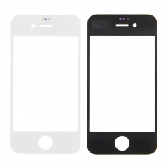 For iPhone 4S 4GS Front Outer Glass Lens Screen Cover White