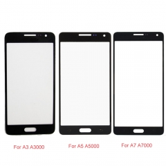 For Samsung Galaxy A3 A5 A7 2015 2016 2017 Front Outer Glass Lens Screen Cover