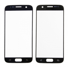 For Samsung Galaxy S7 G930A G930T G930P G930V G930F Front Outer Glass Lens Screen Cover Black