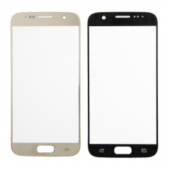For Samsung Galaxy S7 G930A G930T G930P G930V G930F Front Outer Glass Lens Screen Cover Gold