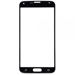 For Samsung Galaxy S5 i9600 G900R G900F G900H G900M G9001 Front Outer Glass Lens Screen Cover Black
