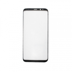 For Samsung Galaxy S8 Plus G955 G955A G955F G955V G955T G955P Front Outer Glass Lens Screen Cover Black