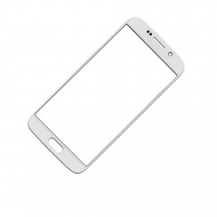 For Samsung Galaxy S6 Edge G925 S6 Edge Plus G928 Front Outer Glass Lens Screen Cover White