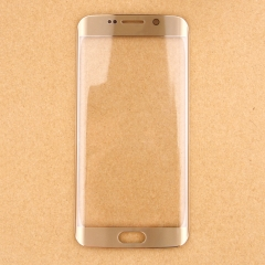 For Samsung Galaxy S6 Edge G925 S6 Edge Plus G928 Front Outer Glass Lens Screen Cover Gold