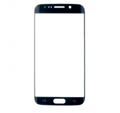 For Samsung Galaxy S6 Edge G925 S6 Edge Plus G928 Front Outer Glass Lens Screen Cover Black