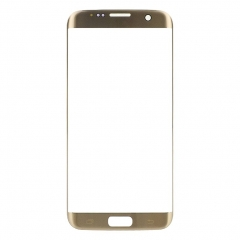 For Samsung Galaxy S7 Edge G935 G935A G935V G935F G935P G935T Front Outer Glass Lens Screen Cover Gold