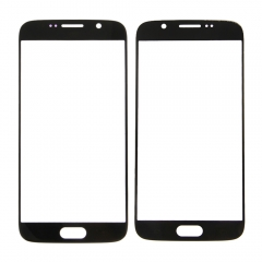 For Samsung Galaxy S6 G9200 G920 G920A G920F Front Outer Glass Lens Screen Cover Black