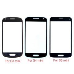 For Samsung Galaxy S3 Mini S4 Mini S5 Mini Front Outer Glass Lens Screen Cover